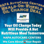 Your Oil Change Today Feeds Someone Tomorrow