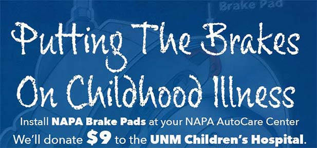 Putting the Brakes on Childhood Illness - brake job - new brakes