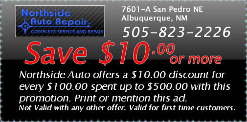 Auto repair savings - save 10 or more