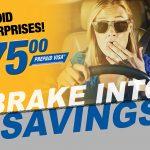 Brake-Into-Savings